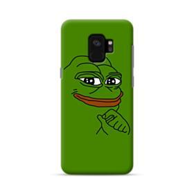 Smug Pepe Frog Funny Meme Samsung Galaxy S9 Case
