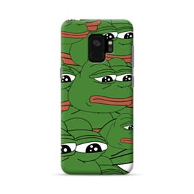 Sad Pepe frog seamless Samsung Galaxy S9 Case