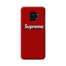 Supreme Red Cover Samsung Galaxy S9 Case