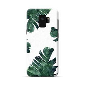 Green Palm Leaves Samsung Galaxy S9 Case