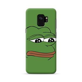 Sad Pepe frog Samsung Galaxy S9 Case