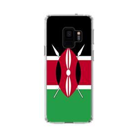 Flag of Kenya Samsung Galaxy S9 Clear Case