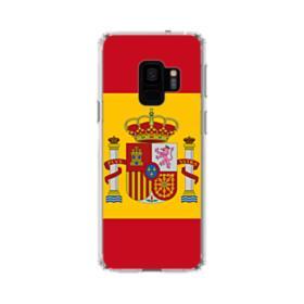 Flag of Spain Samsung Galaxy S9 Clear Case