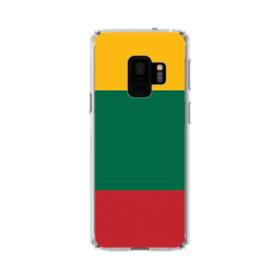 Flag of Lithuania Samsung Galaxy S9 Clear Case