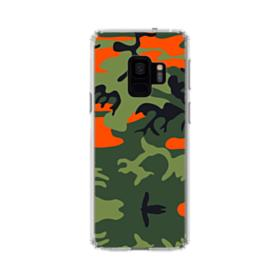Hunter Orange Army Samsung Galaxy S9 Clear Case