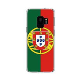 Flag of Portugal Samsung Galaxy S9 Clear Case