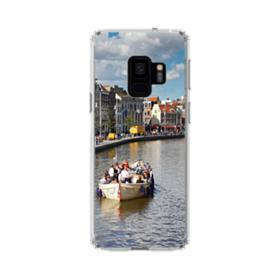 Amsterdam River View Samsung Galaxy S9 Clear Case