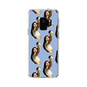 Kendall Jenner funny  Samsung Galaxy S9 Clear Case