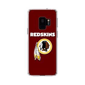 Washington Redskins Team Logo Red Samsung Galaxy S9 Clear Case