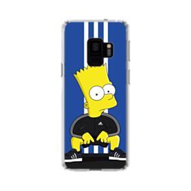 Simpson Bart X Adidas Samsung Galaxy S9 Clear Case
