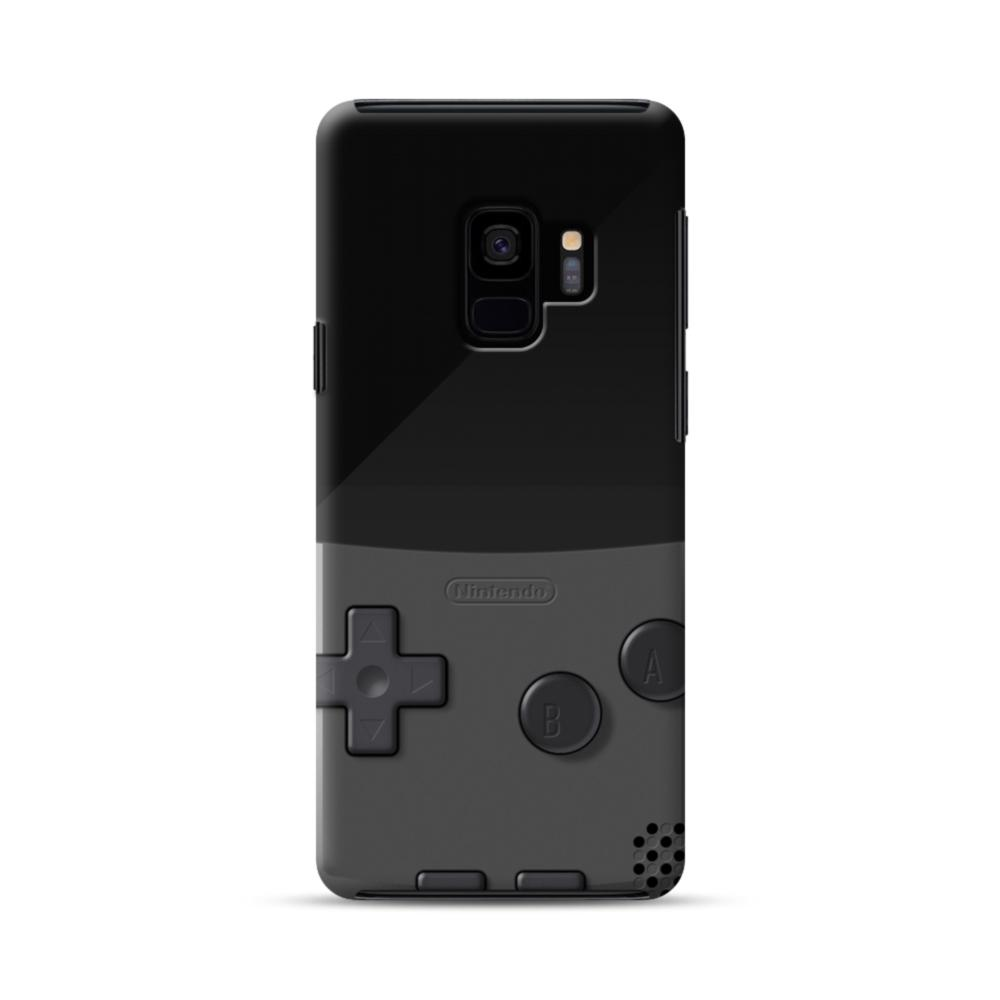 wholesale dealer 95046 60deb Game Boy Gray Samsung Galaxy S9 Hybrid Case