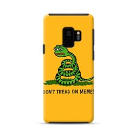 Pepe the frog don't tread on memes Samsung Galaxy S9 Hybrid Case