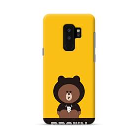 Line Friends Brown Give You Luck Samsung Galaxy S9 Plus Case