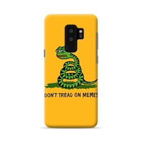 Pepe the frog don't tread on memes Samsung Galaxy S9 Plus Case