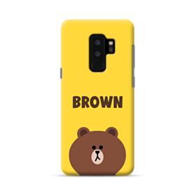 Line Friends Brown Samsung Galaxy S9 Plus Case