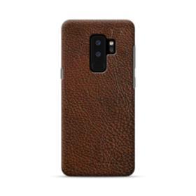 Dark Brown Leather Samsung Galaxy S9 Plus Case