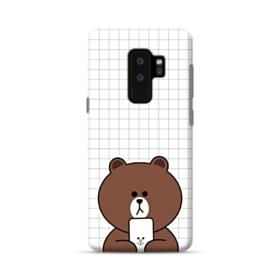 Brown Missing Cony Samsung Galaxy S9 Plus Case