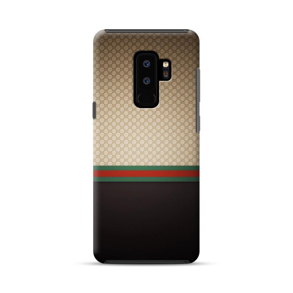 online retailer 2eef7 f411c Gucci Pattern Samsung Galaxy S9 Plus Hybrid Case