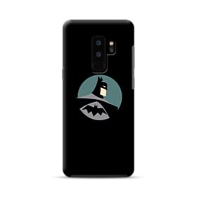 Batman Minimalism Portrait Samsung Galaxy S9 Plus Hybrid Case