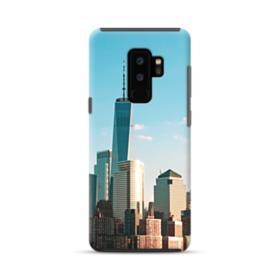 New York Skyline Samsung Galaxy S9 Plus Hybrid Case