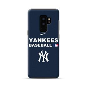 New York Yankees Team Logo Interlocking Samsung Galaxy S9 Plus Hybrid Case