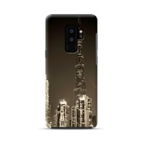 City night skyline Samsung Galaxy S9 Plus Hybrid Case