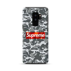 Bape x Supreme Samsung Galaxy S9 Plus Hybrid Case