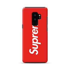 Red Supreme Samsung Galaxy S9 Plus Hybrid Case