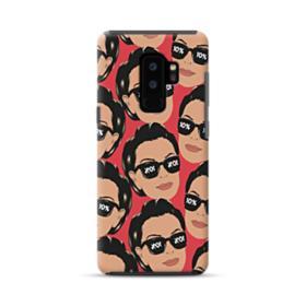Kris jenner funny meme emoji Samsung Galaxy S9 Plus Hybrid Case