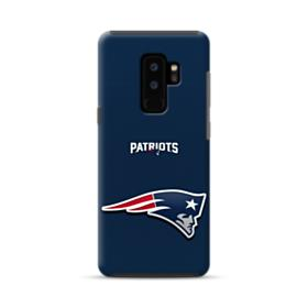 New England Patriots Team Logo NFL Samsung Galaxy S9 Plus Hybrid Case