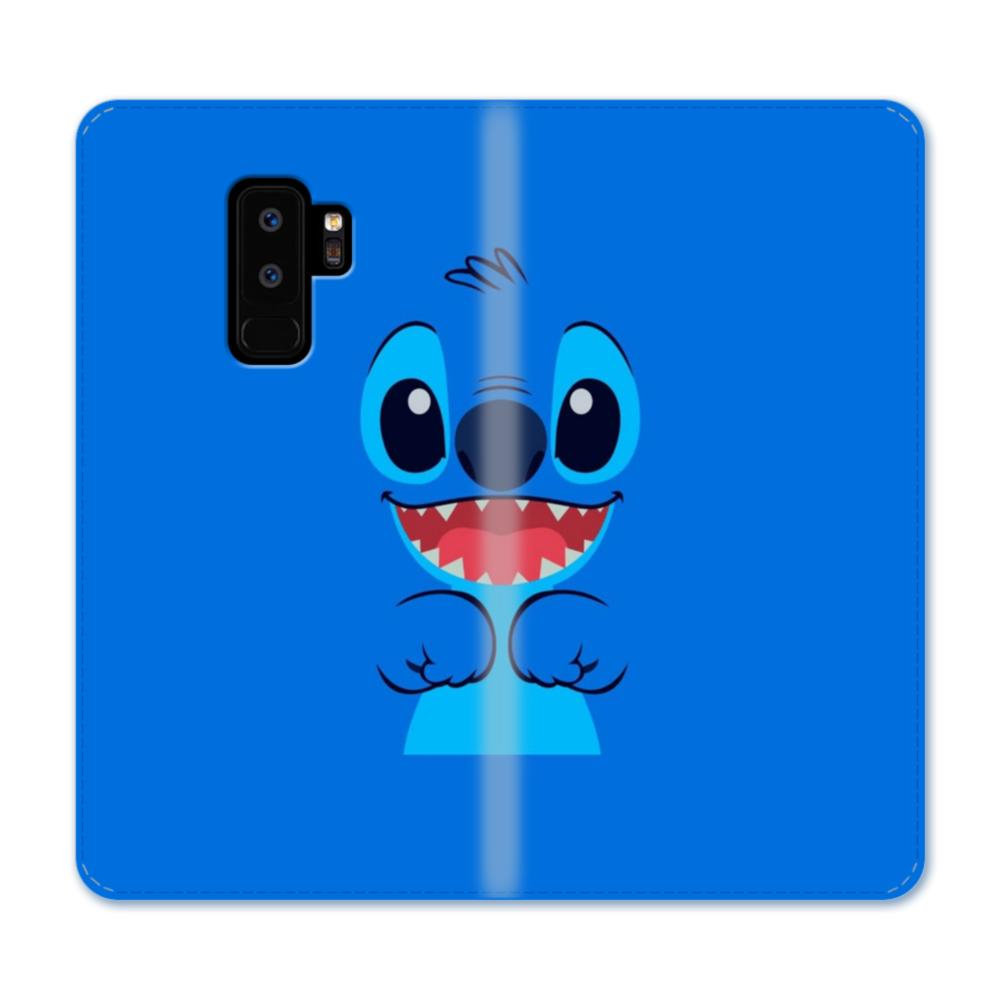 18493520 stitch smiling face samsung galaxy s9 plus wallet case