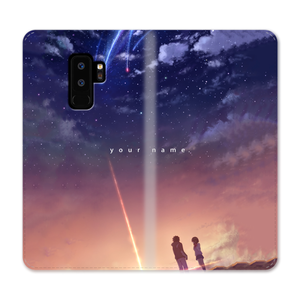 low priced 848a9 709c4 Your Name Anime Samsung Galaxy S9 Plus Wallet Case