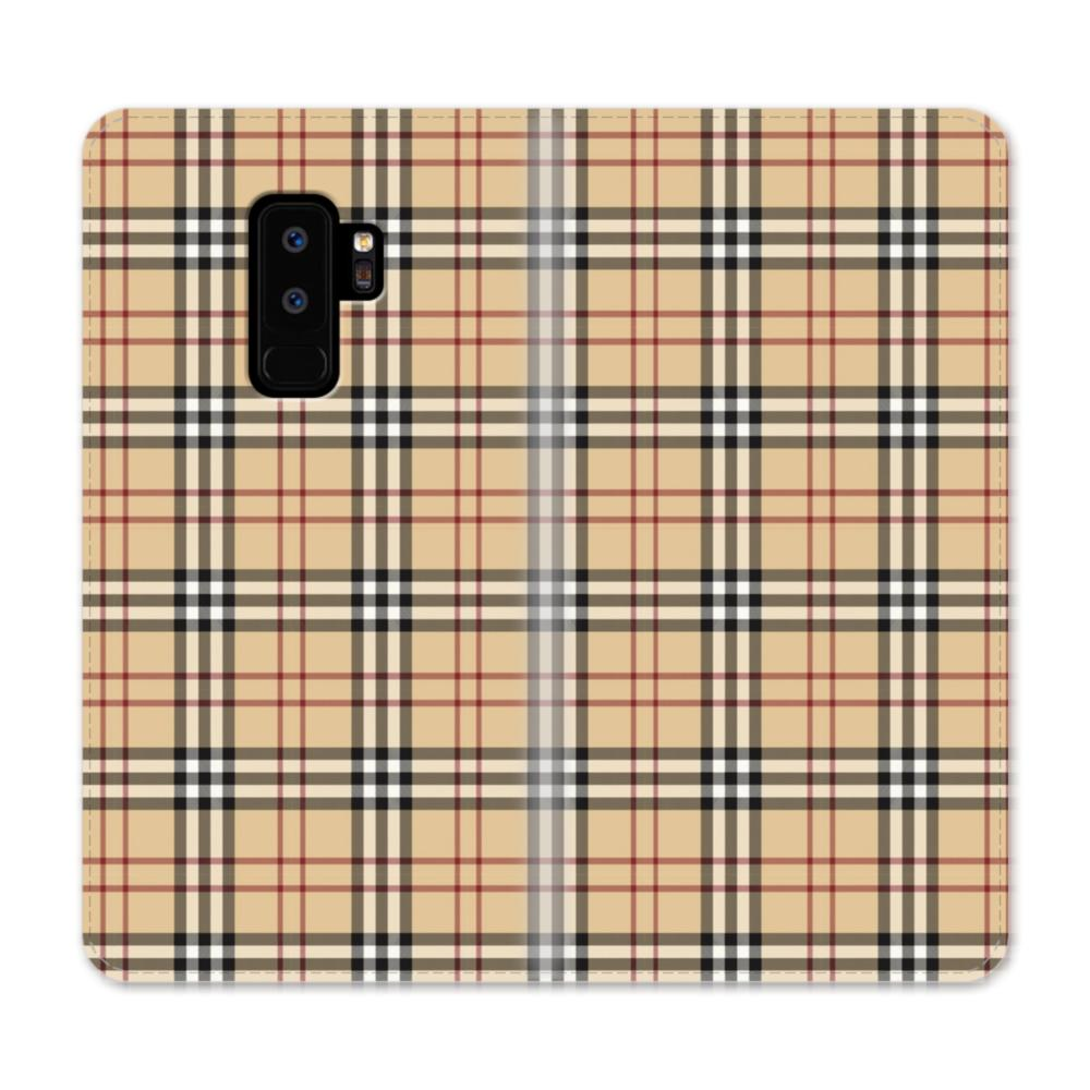new products 79033 95322 Burberry Tartan Samsung Galaxy S9 Plus Wallet Case