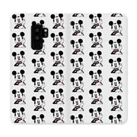 Mickey Collage Samsung Galaxy S9 Plus Wallet Case