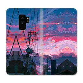 Sunset Houses Samsung Galaxy S9 Plus Wallet Case