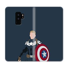 Captain America Comic Samsung Galaxy S9 Plus Wallet Case