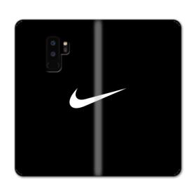 Nike Logo Black Samsung Galaxy S9 Plus Wallet Case