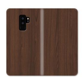 Dark Coffe Wood  Samsung Galaxy S9 Plus Wallet Case