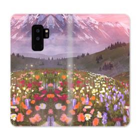 Snow Mountain Garden Samsung Galaxy S9 Plus Wallet Case