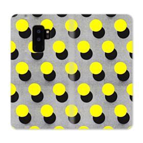 Yellow Dots Samsung Galaxy S9 Plus Wallet Case