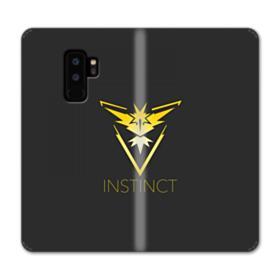 Instinct Team Logo Minimalist Samsung Galaxy S9 Plus Wallet Case