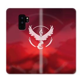 Valor Team Logo Red Fire Samsung Galaxy S9 Plus Wallet Case