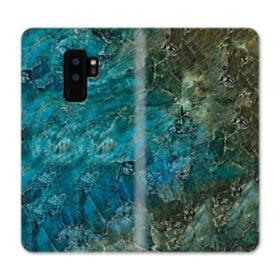 Green Marble Samsung Galaxy S9 Plus Wallet Case