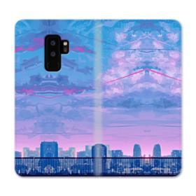 Sunset City Sky Samsung Galaxy S9 Plus Wallet Case