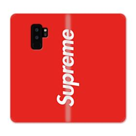 Red Supreme Samsung Galaxy S9 Plus Wallet Case