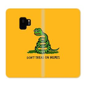 Pepe the frog don't tread on memes Samsung Galaxy S9 Wallet Case