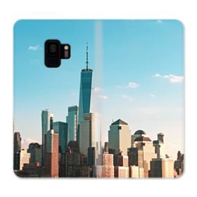 New York Skyline Samsung Galaxy S9 Wallet Case