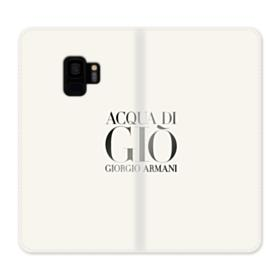 Giorgio Armani Acqua Di Gio Bottle Samsung Galaxy S9 Wallet Case