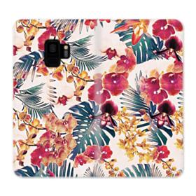 Flores Tropicales Samsung Galaxy S9 Wallet Case