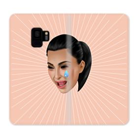 Crying Kim emoji kimoji Samsung Galaxy S9 Wallet Case